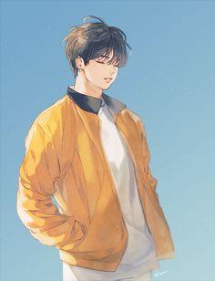 drawings of love Jungkook Fanart, Kpop Fanart, Bts Manga, Bts Anime, Anime Guys, Bts Chibi, Bts Kawaii, Fan Art, Character Art