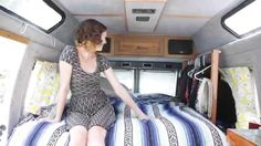"""""""A Tour of Our Mobile Dwelling"""" pinning because of the very interesting lady urinal set up they have. Not a bad idea, I would work to perfect it."""