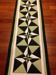 Day Night Table Runner made by Penny Hill