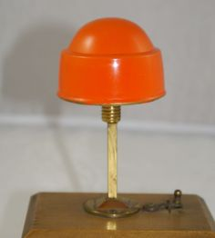 Art Deco Lampe Puppenstube Miniatur 20er Jahre Messing Doll room Lamp | eBay