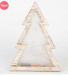 Light up your Christmas with the Small LED Christmas Tree in Natural Wood It is made out of plywood finished in a natural wood colour with