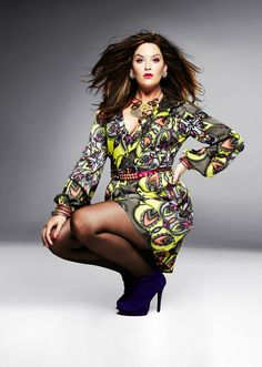 Whitney Thompson is total proof that plus size girls cant and should not be wallflowers.   Since you arent gonna blend in, outshine them. So bored of big girls wearing black. It doesnt make you look skinny, it just makes you look boring.