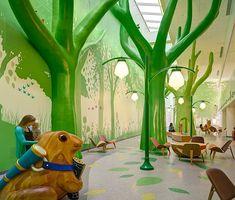 "Nationwide Children's Hospital, Columbus, Ohio. ""Ten Most Colorfully Inspiring Children's Hospitals"""
