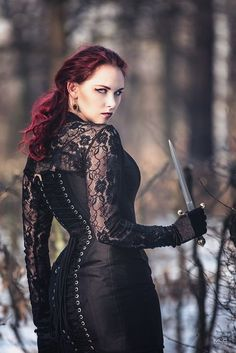 model, stylization: Revena Gothic and Amazing Hot Goth Girls, Gothic Girls, Goth Beauty, Dark Beauty, Dark Fashion, Gothic Fashion, Style Fashion, Fashion Clothes, Beltane