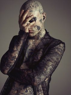 Zombie Boy Rick Genest by Mateusz Stankiewicz for Fashion Magazine