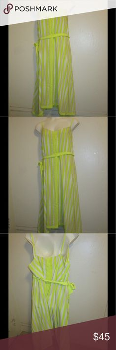 NEON GREEN BELTED DRESS BY LANE BRYANT * 26/28 * BRAND NEW; NEON GREEN BELTED MAXI DRESS BY LANE BRYANT * 26/28 *. PLEASE FEEL FREE TO ASK ANY QUESTIONS YOU MAY HAVE AND I WILL REPLY WITHIN 48 HOURS. THE BEST DEALS ARE BUNDLED SO LOOK AROUND MY CLOSET AND HAPPY SHOPPING! Lane Bryant Dresses Maxi