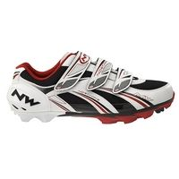 Northwave Sparta MTB Cycling Shoes 2013 White/Black -  EU 40