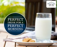 Start your perfect morning with perfect drink | Pride of cows organic cow milk