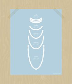 Best 25 Necklace Lengths Ideas On Pinterest Necklace