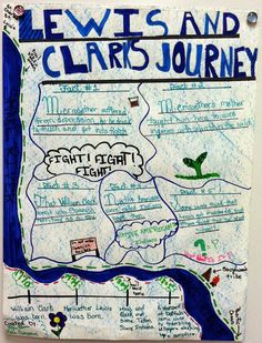 Lewis and Clark Expedition - A Poster Project with a FREE scoring rubric. My students LOVED this project!