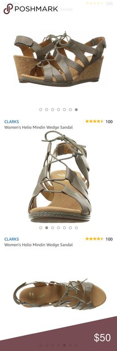 13ec54bfcdb ⭐️SALE⭐ Clark s Wedge Sandals NWOT New never worn without box and has a