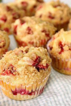 Strawberry Cheesecake Cupcake ~ Delicious recipes