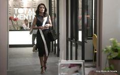 Look da Carolina dia 21 de março na novela Totalmente Demais (6 fotos) - Moda de Novela