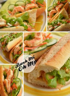 #DIY Banh Mi!  Build your own customized #recipe for Vietnamese sandwiches.