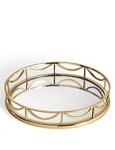 Decorative Round Mirror Tray | M&S
