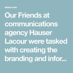 Our Friends at communications agency Hauser Lacour were tasked with creating the branding and information design for the new HQ of the Fraport Group, a large office…
