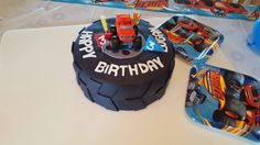 Blaze and the Monster Machines Tire Cake