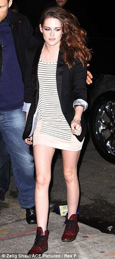 Kristen Stewart puts her bra on show in see-through outfit for On the Road screening | Mail Online