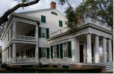 Rosedown Plantation, St. Francisville, LA --love her porches