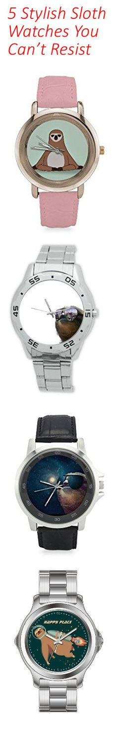 """Have you ever looked at your wrist and thought """"Hey! I should get a sloth watch!"""" – Who am I kidding, of course you have. Without wasting any more of your precious time… Get it. Time. Because sloth watches – hilarious. Anyway, lets take a look at our top 5 list of sloth watches: http://all-things-sloth.com/5-sloth-watches-you-cant-resist/"""