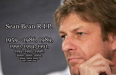 Watch Sean Bean Die 21 Glorious Times (Full list, as of 2011)