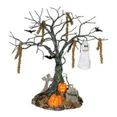 Amazon.com - Dept 56 Snow Village Halloween **Lit Graveyard Tree** 53129