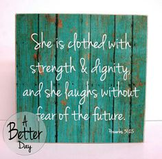 ...She is...