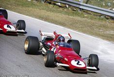 Jacky Ickx (Ferrari Grand Prix d'Italie - Monza 1970 - source Carros e Pilotos. Ferrari Scuderia, Ferrari F1, Lorenzo Bandini, Clay Regazzoni, Jochen Rindt, Italian Grand Prix, Mario Andretti, Race Engines, F1 Racing