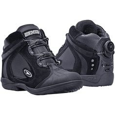 AXO Striker Motorcycle Riding Boots (Black, Size 9) $69.99