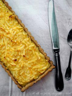 C'est à l'occasion d'une réunion de l'AMAP que j'ai découvert la recette de la tarte aux pommes râpées et au citron. C'est délicieux :doux et fondant et en même temps cela titille vos papilles ! ...