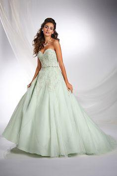 Tiana Inspired Princess Wedding Dress - 2015 Disney's Fairy Tale Weddings by Alfred Angelo
