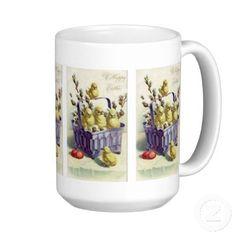 Vintage easter holiday coffee mug easter giftshousehold decor vintage easter holiday coffee mug easter giftshousehold decor pinterest easter holidays vintage easter and easter negle Images