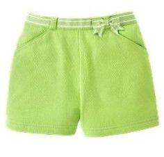 Gymboree NWT Tutti Fruity Lime Green Shorts | Gymboree-Vintage