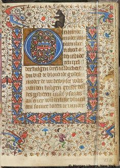 Book of Hours, MS M.76 fol. 138r - Images from Medieval and Renaissance Manuscripts - The Morgan Library & Museum