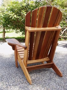 These Adirondack chair plans will help you build an outdoor furniture set that becomes the centerpiece of your backyard . It's a good thing that so many plastic patio chairs are designed to stack, and the aluminum ones fold up flat. Outdoor Furniture Plans, Wood Pallet Furniture, Woodworking Furniture, Rustic Furniture, Funky Furniture, Furniture Design, Plastic Patio Chairs, Recycled Plastic Adirondack Chairs, Wood Adirondack Chairs