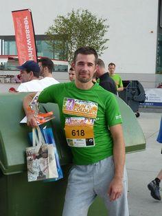 Jo at Run of Colours, Charity Run