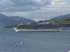Cruise Ships, Ocean, Mountains, Beach, Water, Travel, Outdoor, Gripe Water, Viajes