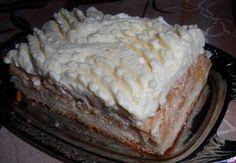 Amorův jablečný řez (koláč)