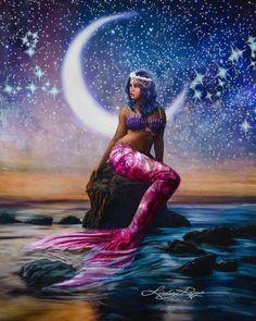 Goddess Mermaid Diamond Painting Goddess Mermaid Diamond Painting Smithy Cole SmithyCole Colours Dive into a mermaid diamond painting This diamond painting kit has nbsp hellip canvas people Foto Fantasy, Fantasy Kunst, Fantasy Art, Mermaid Artwork, Mermaid Drawings, Mermaid Paintings, Drawings Of Mermaids, Fantasy Mermaids, Mermaids And Mermen