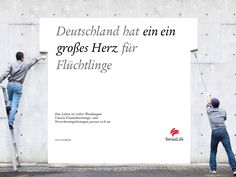 Deutschland hat EIN EIN GROßES HERZ für Flüchtlinge #wendesatz