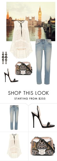 """""""Treasure Hunt"""" by frogers21 ❤ liked on Polyvore featuring The Row, Giuseppe Zanotti, Erdem, Paula Cademartori and Maria Canale"""