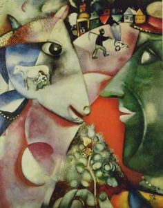 """""""I and The Village"""" (Marc Chagall)"""