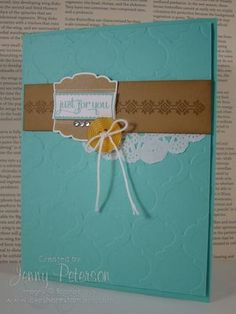 Label Love & Mosaic, Jenny Peterson, Stampin' Up! Demonstrator, www.lakeshorestamping.com