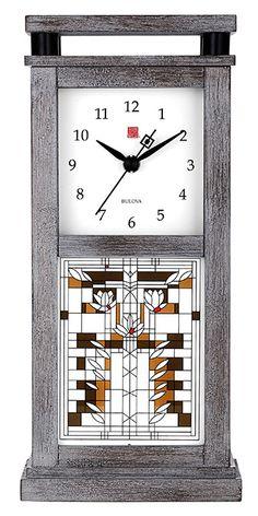 Clocks - Waterlilies Mantel Clock
