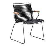 Click-tuoli, musta