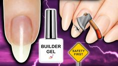 How To Remove Builder Gel At Home Safely Soak off Builder Gels, Builder In A Bottle (BIAB), Liquid Builder Gels and soak off Polygel copies are so popular th. Nail Products, Pure Products, Liquid Gel Nails, Builder Gel Nails, Gel Nail Removal, How To Remove, How To Apply, Nail Drill, Acetone