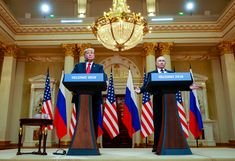 Trump at Putins Side Questions U.S. Intelligence on 2016 Election
