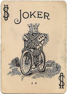 Design Museum on joker Mais Joker Playing Card, Playing Cards Art, Joker Card, Vintage Playing Cards, Vintage Cards, Play Your Cards Right, Jokers Wild, Bicycle Art, Design Museum