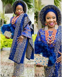 French Lace Asoebi Styles For Beautiful African Ladies To Try Out - Dabonke : Nigeria Latest Gist and Fashion 2019 Nigerian Wedding Dresses Traditional, Nigerian Lace Styles, Traditional Wedding Attire, Traditional Weddings, African Inspired Fashion, African Print Fashion, Africa Fashion, African Lace Dresses, African Fashion Dresses