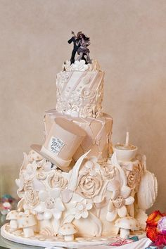 i would love an alice in wonderland themed wedding reception | dream ...